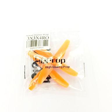 HQProp 3x3x4RO (Orange)