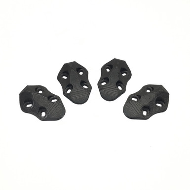 ImpulseRC APEX Arm Skid Set (4pcs) - 3D Printed (BLACK)