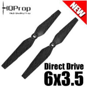 HQProp DD6x3.5 (Black) Normal