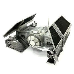 """Star Wars"" DARTH VADER's Tie-Advance 3D Printed Basic Kit (Unpainted - WHITE)"