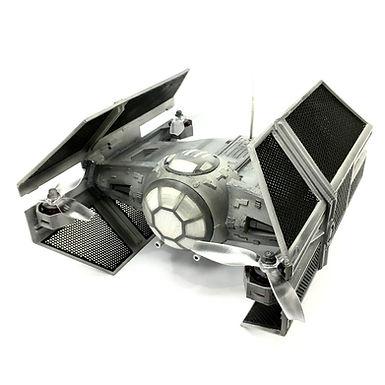 """Star Wars"" DARTH VADER's Tie-Advance 3D Printed Basic Kit (Unpainted - WHITE)"