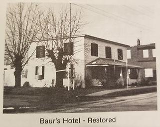 Rosebud MO Baur Hotel