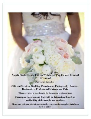 Angela Nicole Events' Giveaway Details