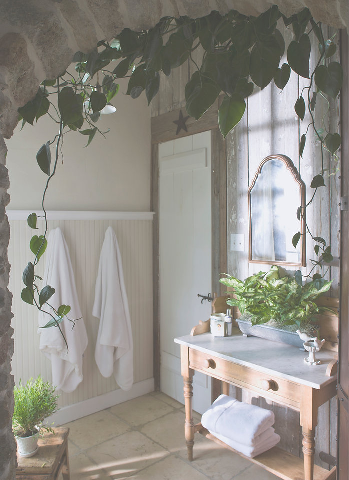 Green Bathroom