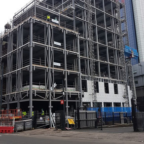 We have made a start to the new Westgate hotel project in Cardiff city centre with Bect Construction