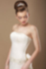 Brautfrisur elegant