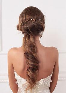 Brautfrisur hinten