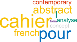Cahiers pour l'analyse  and Contemp