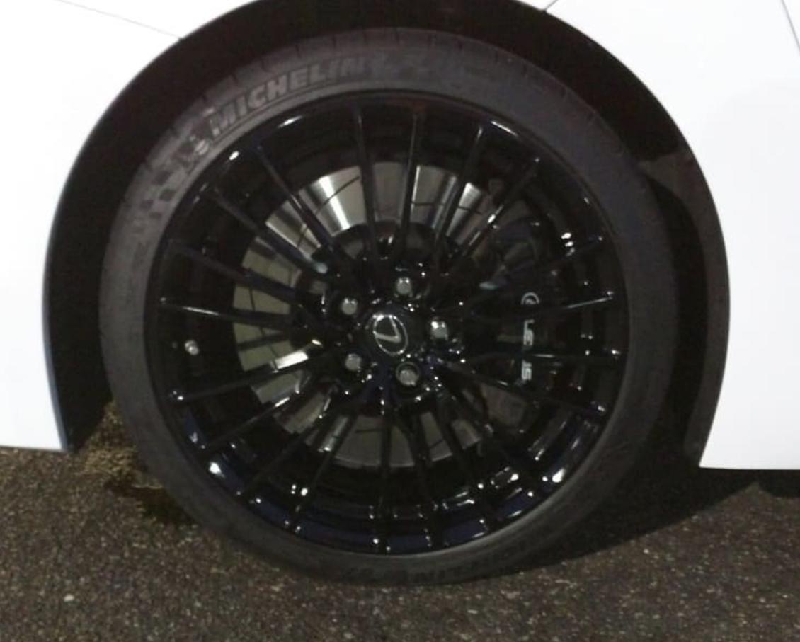 Lexus Black Out Wheels