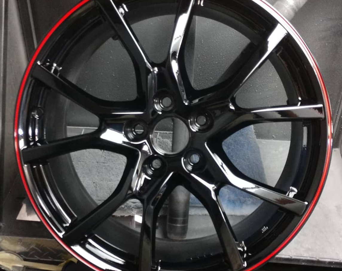 Make a statement with your rims