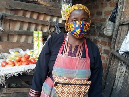 LAMAIN BEAUTY COVID-19 EMERGENCY RELIEF TO MARKET VENDORS IN KAWEMPE (UGANDA)