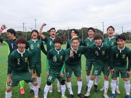 11/29 新関東リーグ最終節 VS 明治大学エスペランサ
