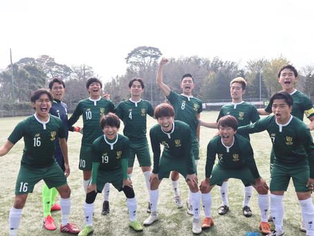 11/7 新関東リーグ第二節 VS 慶應キッカーズ