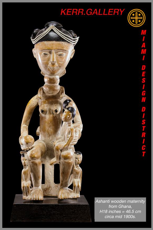 Ashanti Maternity Figure (K0250)