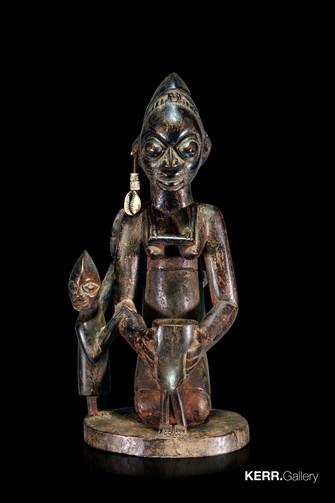 Yoruba Osun maternity figure (K1124)