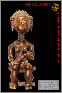Ashanti Queen Mother Figure (K0958)