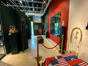 Kerr Gallery, east wall