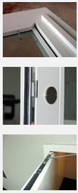 Brandschutztüren - Detailschnitte