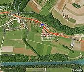 Kontakt Anfahrtsweg Skizze im Ziel