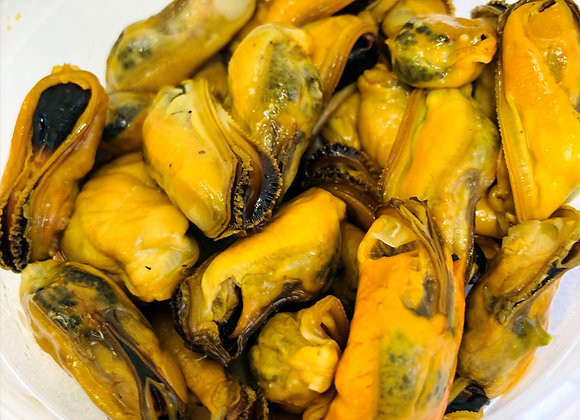 Wood Smoked Mussels