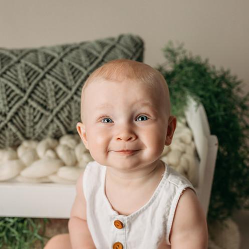 Toddler wearing orgaic cotton on boho style set