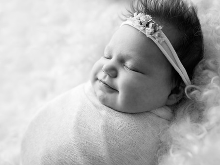 Geelong Newborn Photography | Frankie - 24 days old