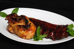 BBQ Rib and Chicken Combo 2