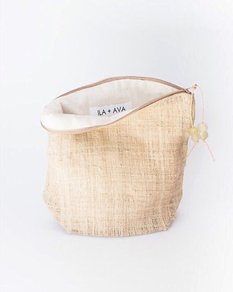 hemp beauty bag