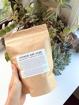 Mineral Salt Soak