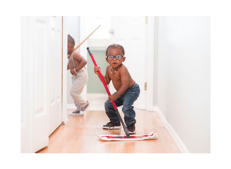 How to Keep Your Tiny Humans Busy at Home