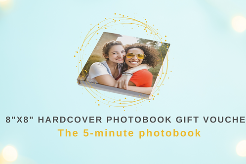 Gift Voucher for 8x8 Hardcover Photobook