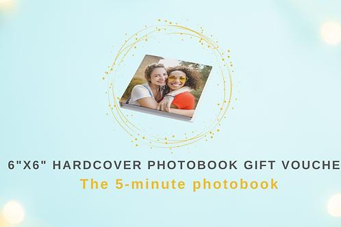 Gift Voucher for 6x6 Hardcover Photobook