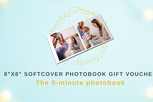 Gift Voucher for 8x8 Softcover Photobook