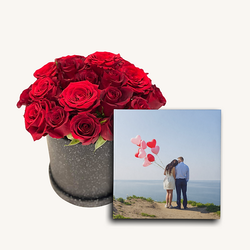 (Black) Box of Roses + Photobook