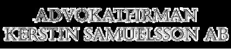 Advokatfirman Kerstin Samuelsson AB