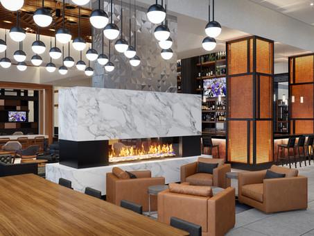 Renderings of New Marriott Owings Mills Metro Centre Hotel Released