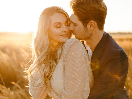 Morgan + Dawson   Southern Sunset Engagement