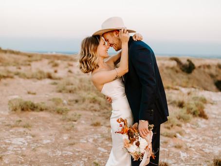 Courtney + Hunter | Gloss Mountain Elopement