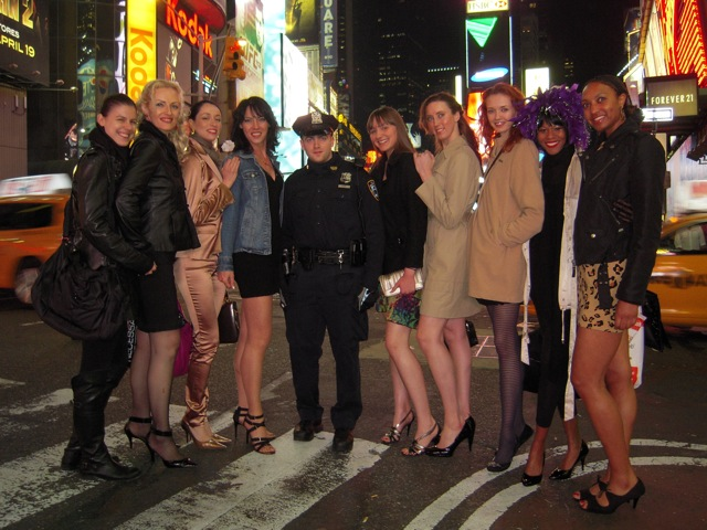 Time Square with police.jpg