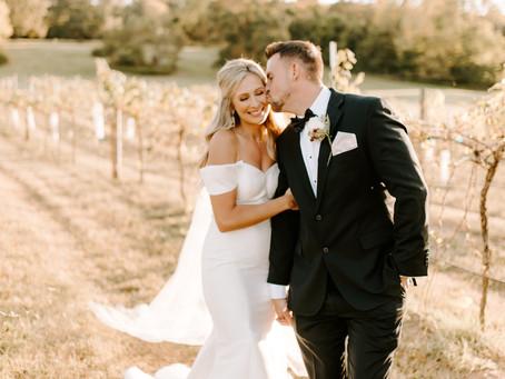 The Eudys | Wine Vineyard Wedding