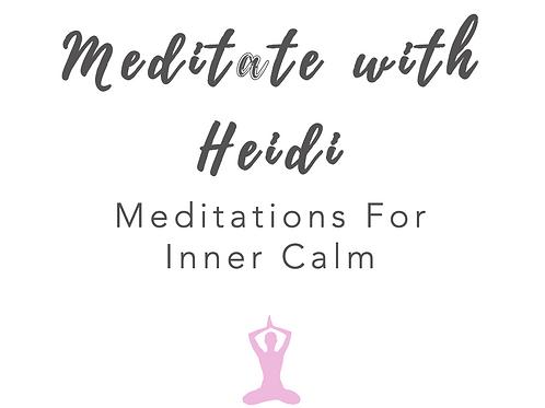 Heidi's Meditation Library