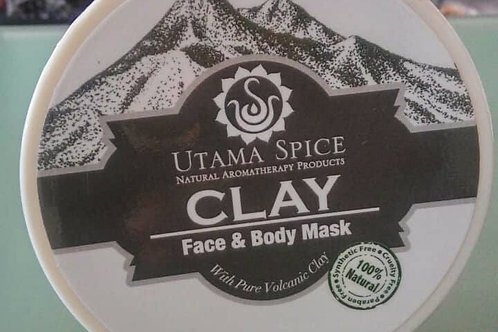 Clay Face & Body Mask by Utama Spice 150g