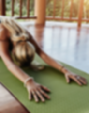 private yoga class sunshine coast