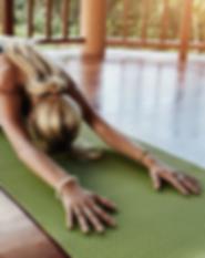 private yoga class sunshine coast
