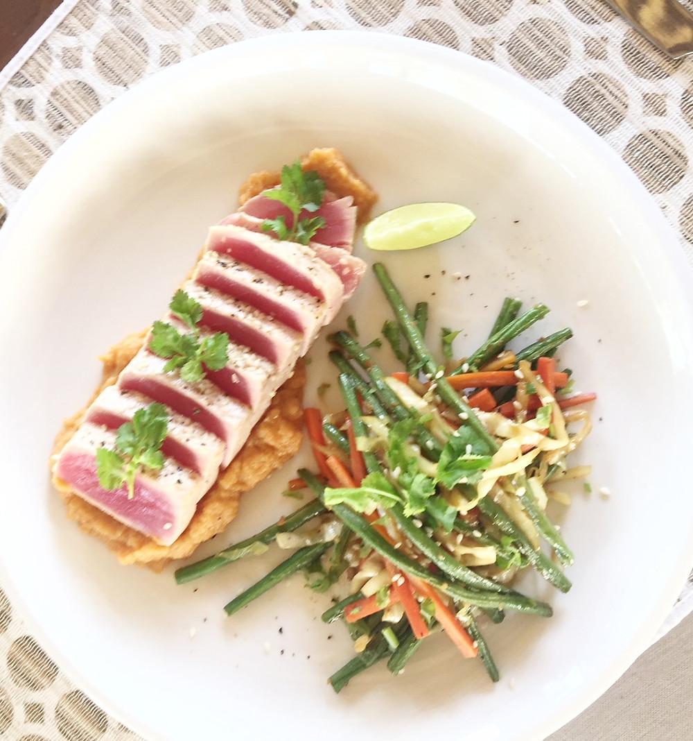 paleo seared tuna recipe