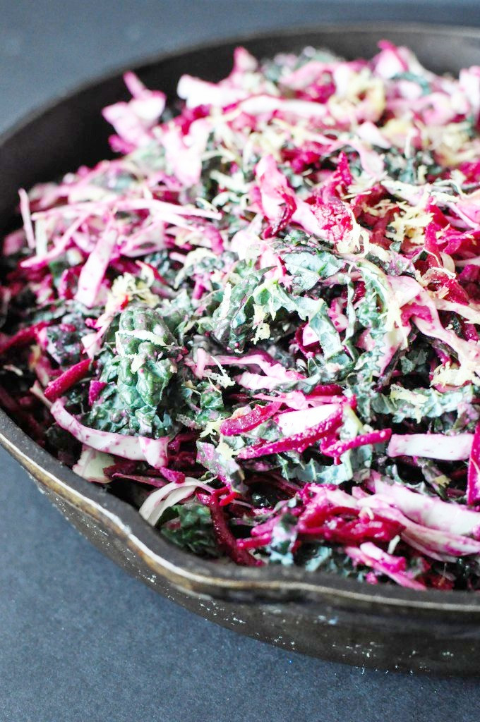 paleo detox beetroot salad with sunbutter