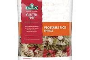 GF Vege Rice Spiral Pasta by Orgran 250g