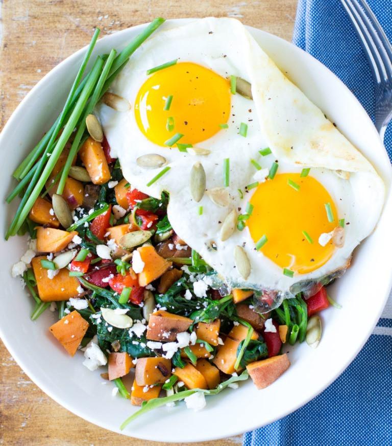 Paleo green breakfast bowl