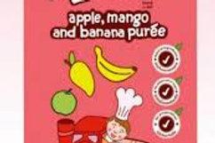 Apple, Mango and Banana by Peachy Baby Food 110g