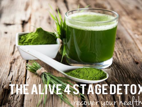 The Alive 4 Stage Detox & Diet